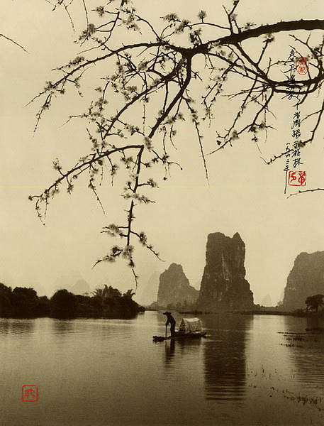 photographs that look like traditional chinese paintins dong hong oai asian pictorialism 18 Photos Made to Look Like Traditional Chinese Paintings