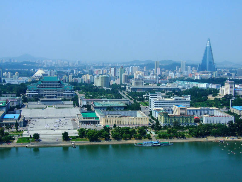 pyongyang north korea skyline 2 A Tale of Two Cities