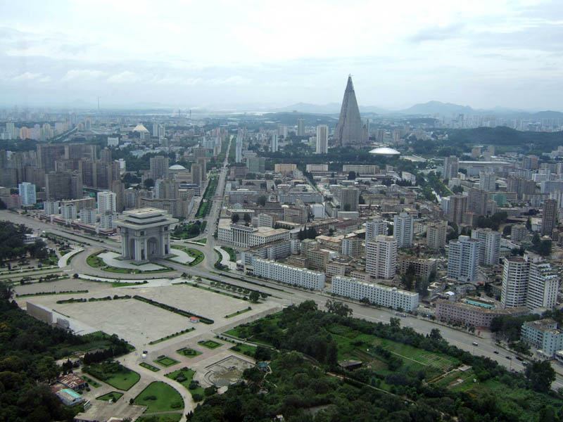 pyongyang north korea skyline 3 A Tale of Two Cities