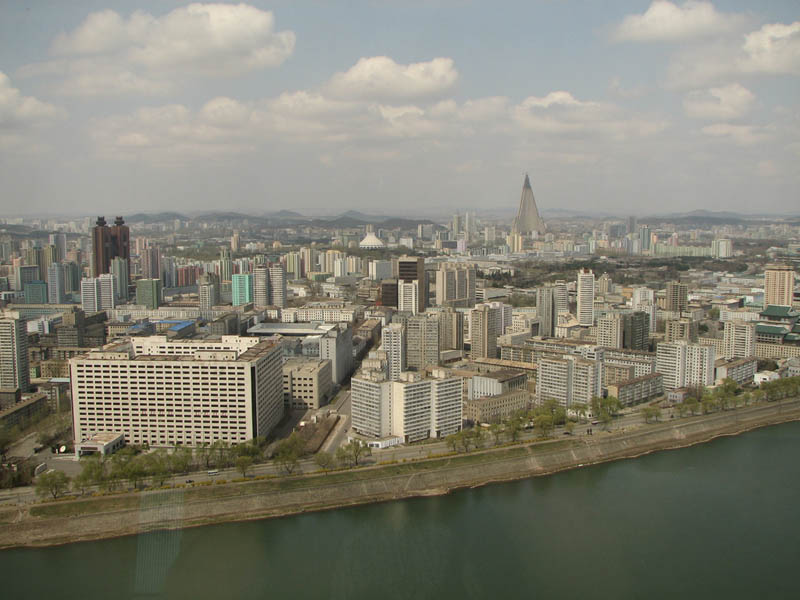 pyongyang north korea skyline A Tale of Two Cities