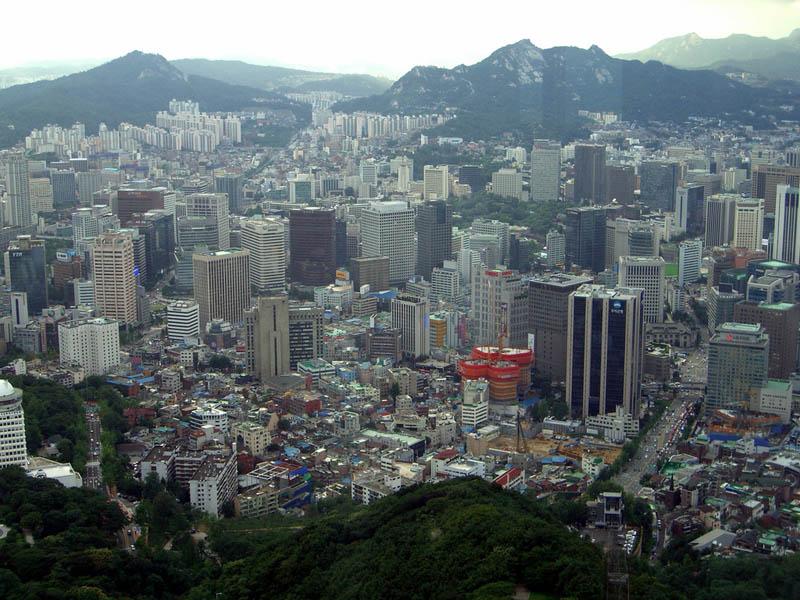 seoul south korea skyline 2 A Tale of Two Cities