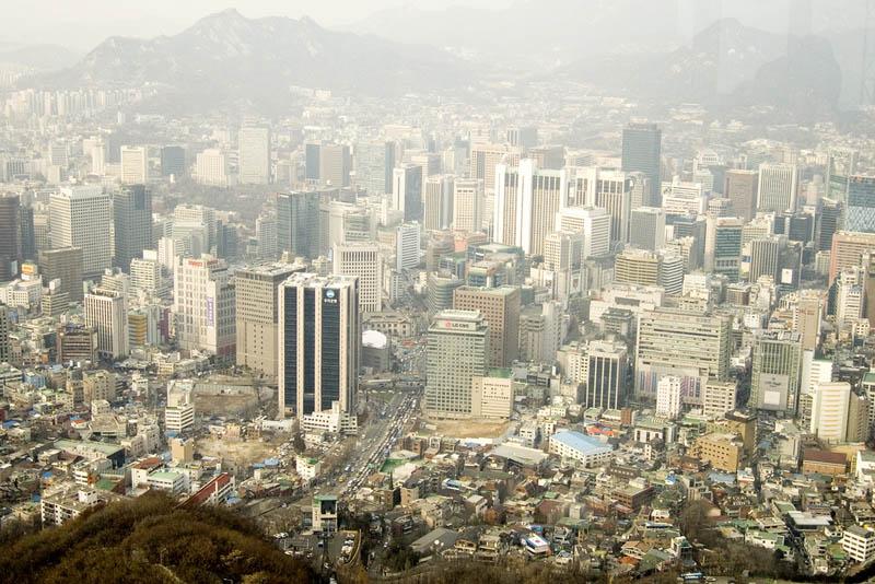 seoul south korea skyline 3 A Tale of Two Cities