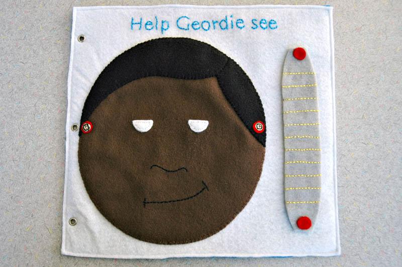 sewn felt star trek queit book for children 7 Awesome Star Trek Quiet Book for Kids