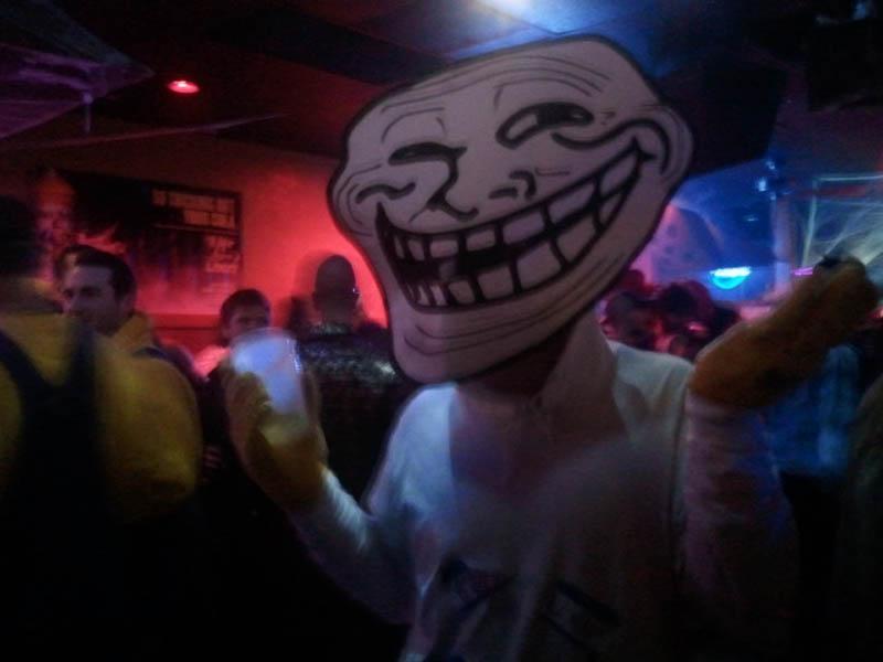 trollface problem hilarious halloween costume 25 Hilarious Halloween Costumes from the Weekend