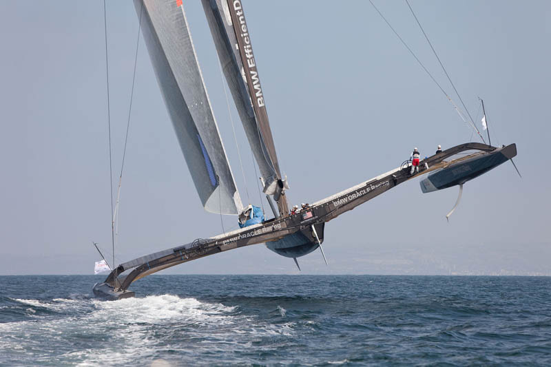 us 17 bmw oracle racing 90 Picture of the Day: Sailing to the Extreme!