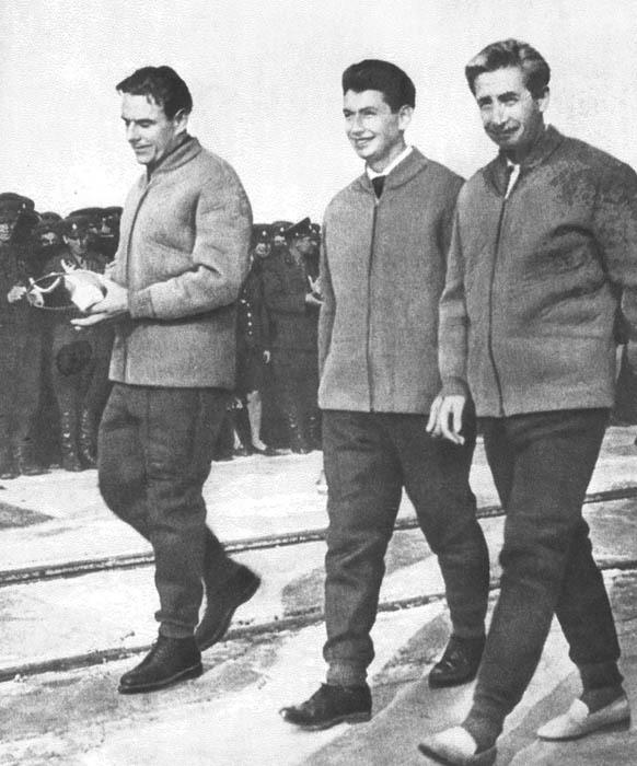 voskhod 1 cosmonauts crew This Day In History   October 12th