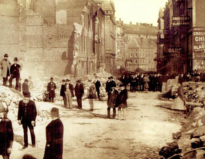 1872 boston fire This Day In History   November 9th