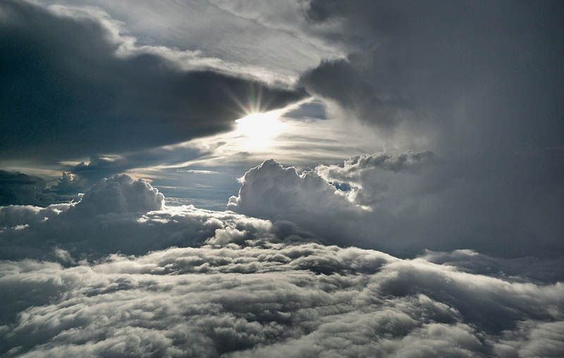 above the clouds photographs 20000ft high aerials rudiger nehmzow 4 Above the Clouds: Photos from 20,000 feet (6000m)