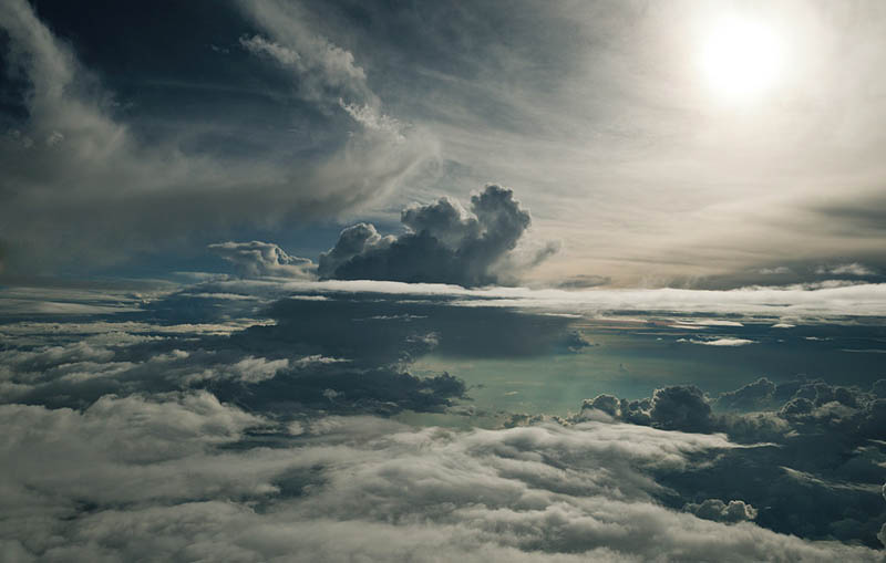 above the clouds photographs 20000ft high aerials rudiger nehmzow 5 Above the Clouds: Photos from 20,000 feet (6000m)