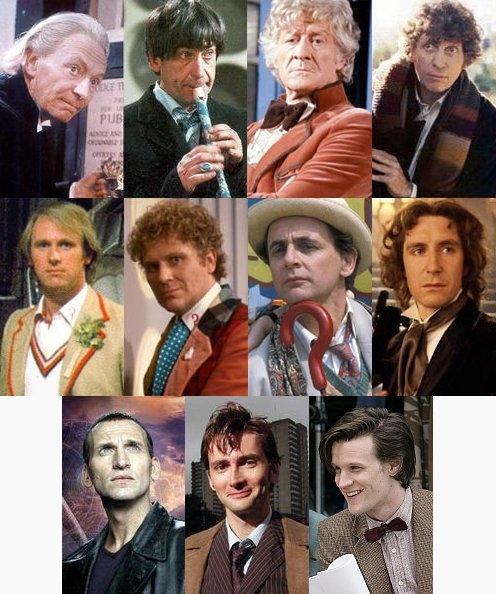 all 11 versions of the doctor in doctor who television series This Day In History   November 23rd