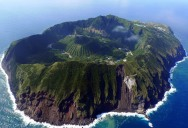 Picture of the Day: The Inhabited Volcanic Island of Aogashima