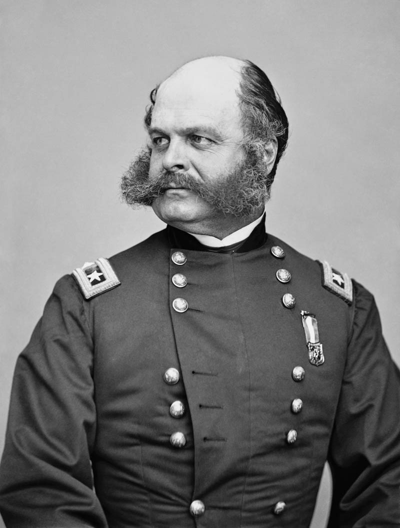 best funniest greatest mustache ever ambrose burnside mustache sideburns Picture of the Day: History's Greatest Mustache