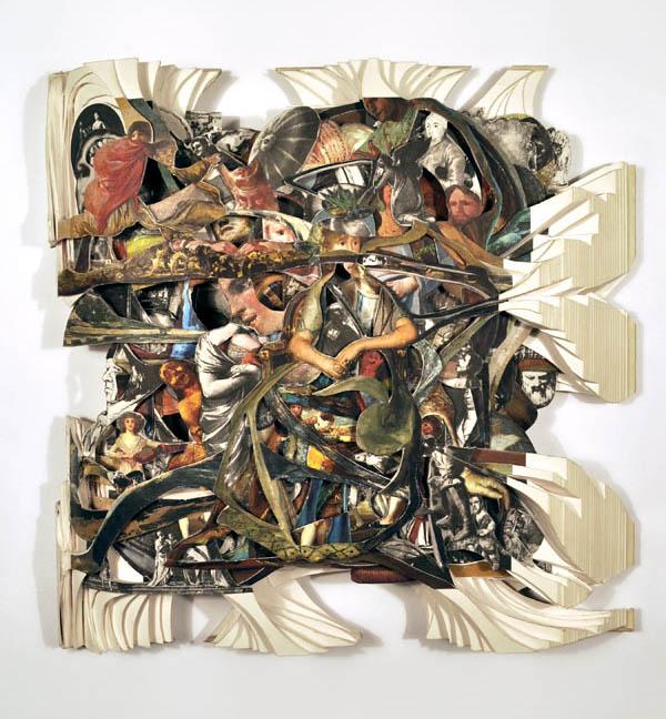 book art carving sculpture brian dettmer 13 Intricate Book Art Carvings by Brian Dettmer