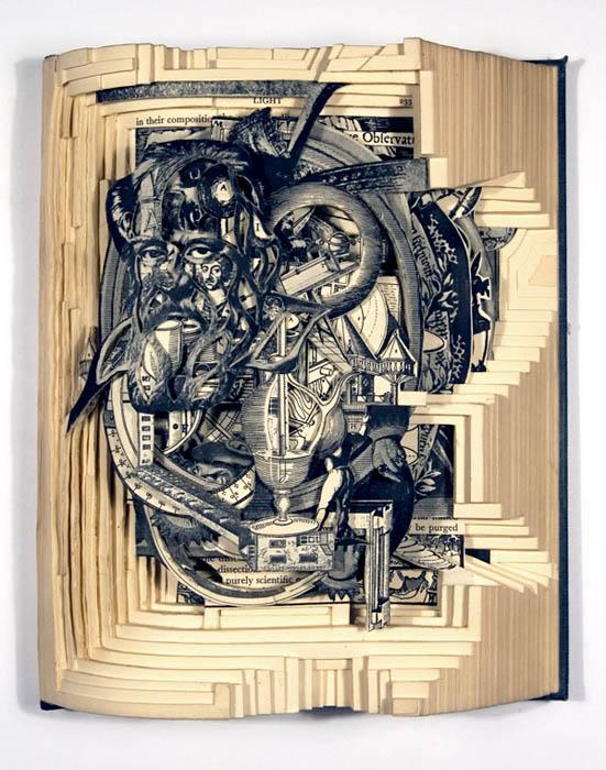 book art carving sculpture brian dettmer 15 Intricate Book Art Carvings by Brian Dettmer