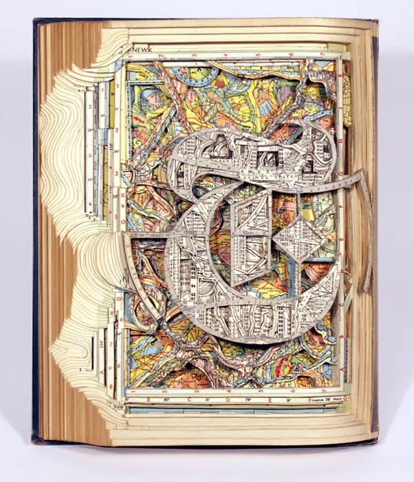 book art carving sculpture brian dettmer 2 Intricate Book Art Carvings by Brian Dettmer