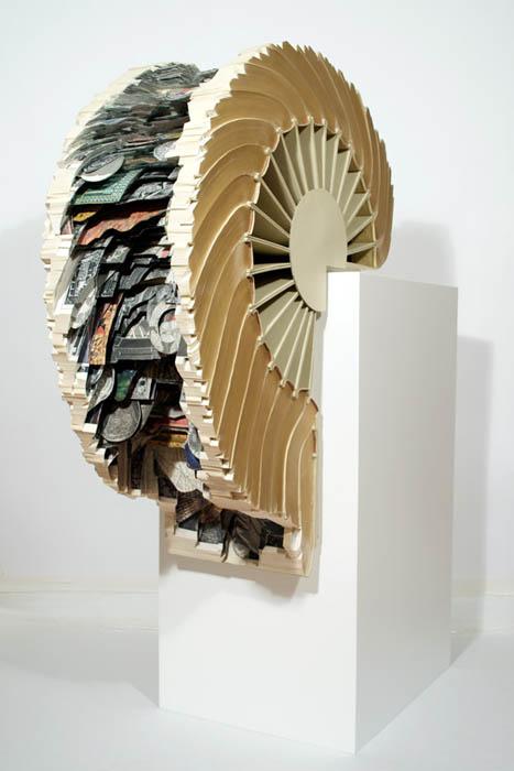 book art carving sculpture brian dettmer 28 Intricate Book Art Carvings by Brian Dettmer