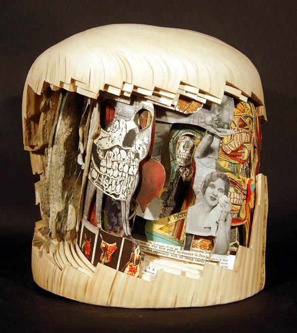 book art carving sculpture brian dettmer 9 Intricate Book Art Carvings by Brian Dettmer