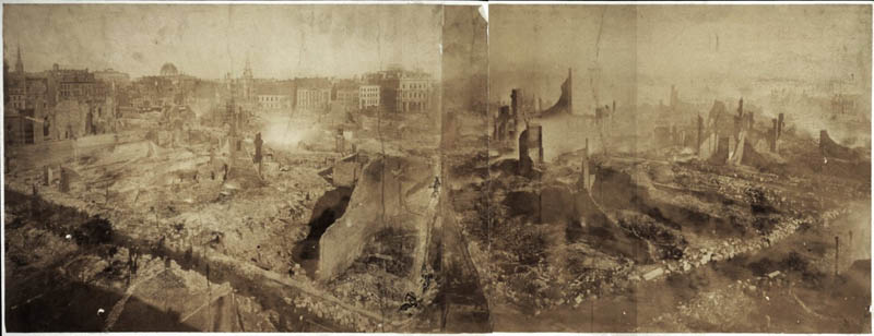 boston 1872 fire ruins This Day In History   November 9th