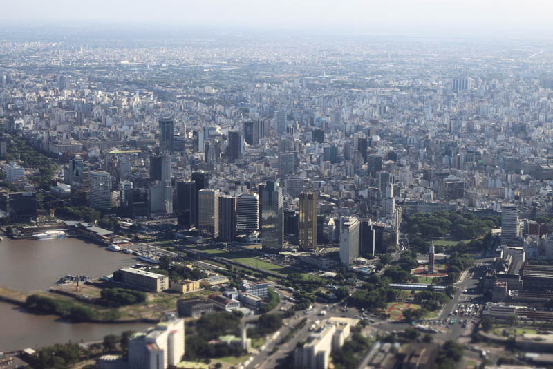 buenos aires skyline aerial from above Top 25 Cities in the World with the Most High Rise Buildings