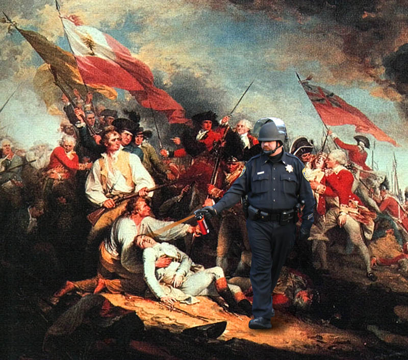 bunker hill pepper spray cop Pepper Spray All the Things: 35 Funniest Photoshops