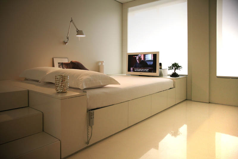 closet house by consexto modular apartment 1 The Biggest Little Apartment in the World