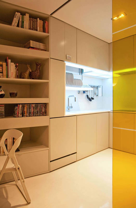 closet house by consexto modular apartment 3 The Biggest Little Apartment in the World
