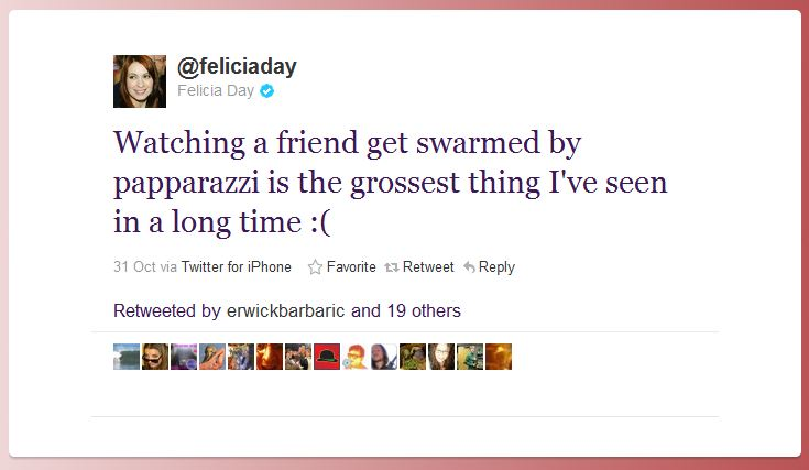 felicia day humblebrag 50 Hilarious Humble Brags on Twitter