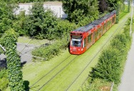 Picture of the Day: Grassed Tramways of Freiburg, Germany