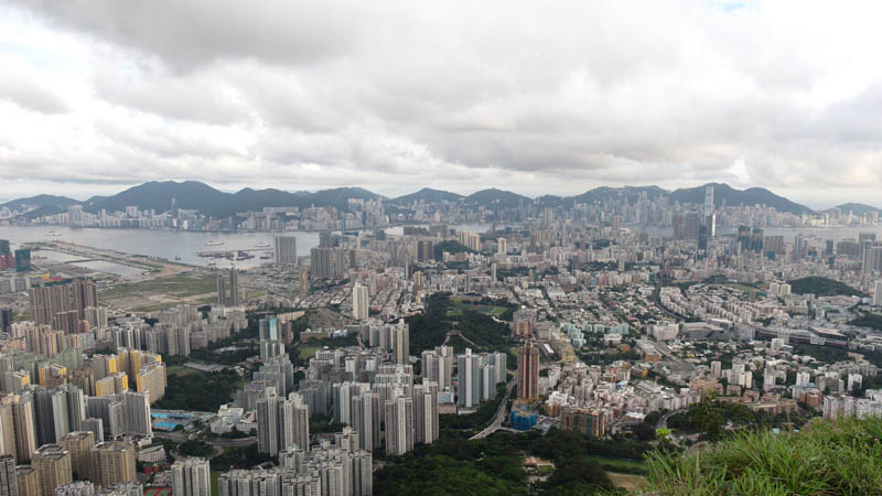 hong kong aerial skyline from kowloon Top 25 Cities in the World with the Most High Rise Buildings