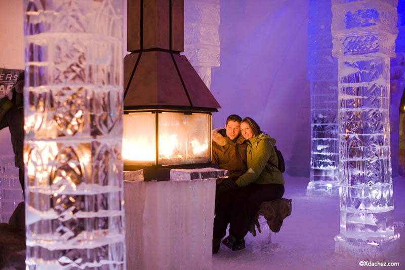hotel de glace americas only ice hotel quebec city canada 13 Hotel de Glace: North Americas Only Ice Hotel