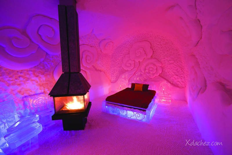 hotel de glace americas only ice hotel quebec city canada 14 3 Bizarre Theme Restaurants in Tokyo, Japan