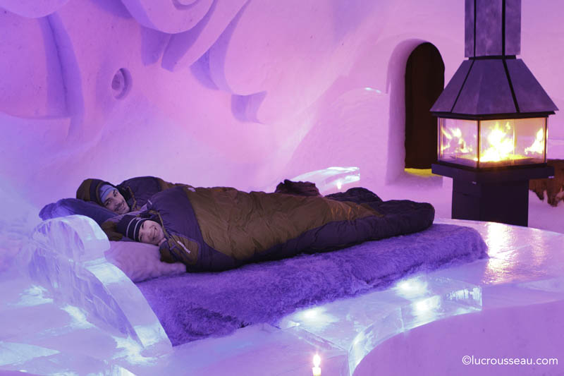 hotel de glace americas only ice hotel quebec city canada 27 Hotel de Glace: North Americas Only Ice Hotel