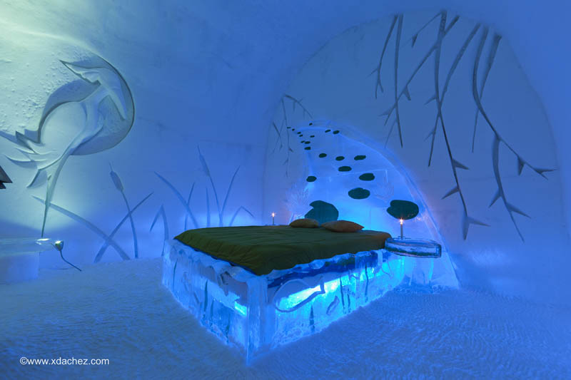 hotel de glace americas only ice hotel quebec city canada 5 Hotel de Glace: North Americas Only Ice Hotel