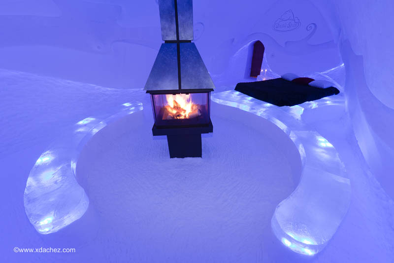 hotel de glace americas only ice hotel quebec city canada 7 Hotel de Glace: North Americas Only Ice Hotel