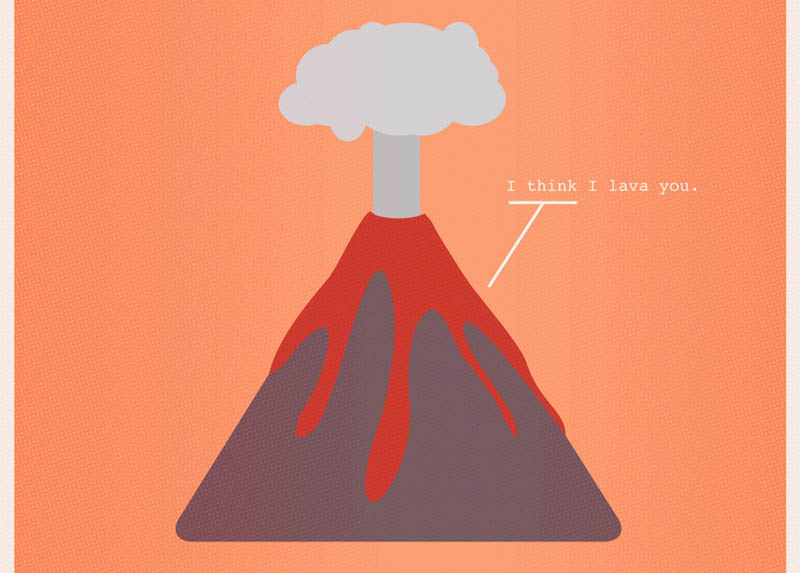 i think i lava you nerdy love poster 12 Nerdy Professions of Love