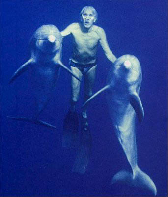 jacques mayol with dolphins This Day In History   November 23rd