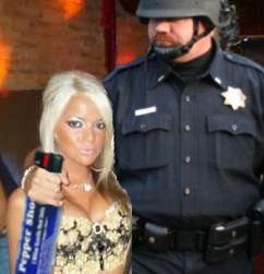 jersey shore pepper spray cop Pepper Spray All the Things: 35 Funniest Photoshops