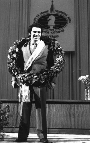 kasparov winning world chess championship age 22 1985 This Day In History   November 9th