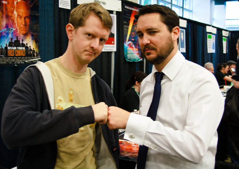 ken jennings and wil wheaton This Day In History   November 30th