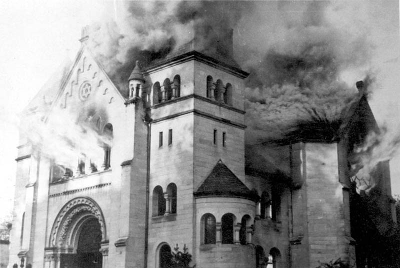 kristallnacht night of broken glass This Day In History   November 9th
