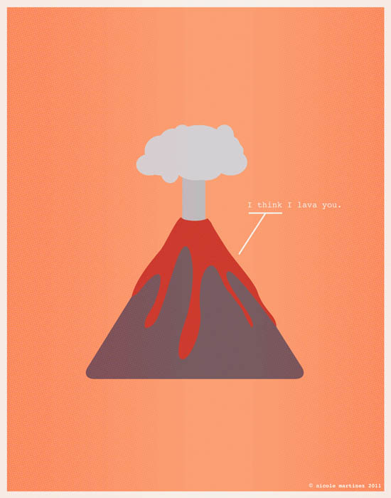 lava you nerdy love poster 12 Nerdy Professions of Love