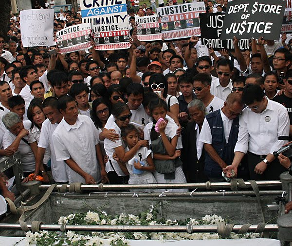 maguindanao massacre funeral This Day In History   November 23rd