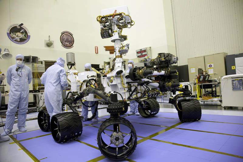 mars science laboratory rover curiosity Picture of the Day: The Mars Science Laboratory Rover Curiosity