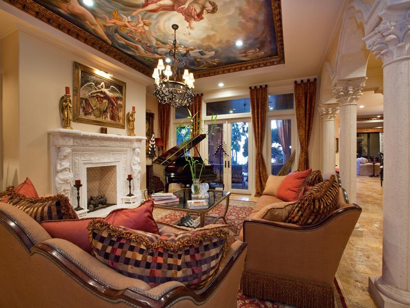 mediterranean moorish design 33 A Mediterranean Mansion with Moorish Flair [33 pics]