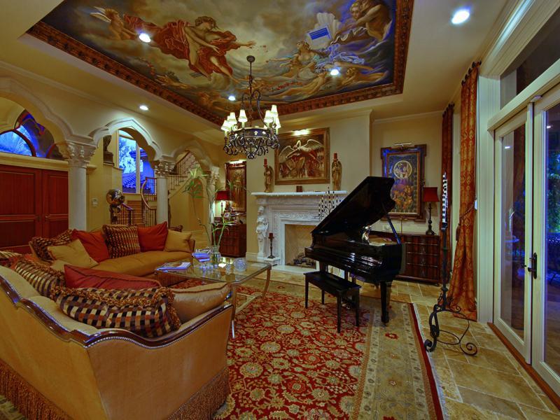 mediterranean moorish design 8 A Mediterranean Mansion with Moorish Flair [33 pics]