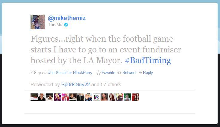 mike miz humblebrag 50 Hilarious Humble Brags on Twitter