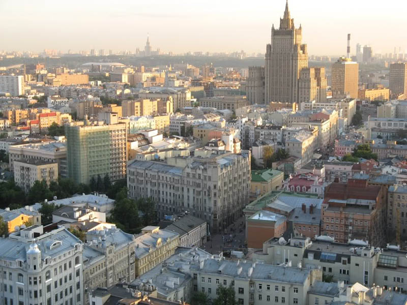 moscow skyline aerial from above Top 25 Cities in the World with the Most High Rise Buildings