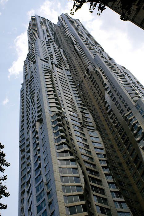 new york by gehry building manhattan new york city 4 New York by Gehry: Tallest Residential Tower in Western Hemisphere