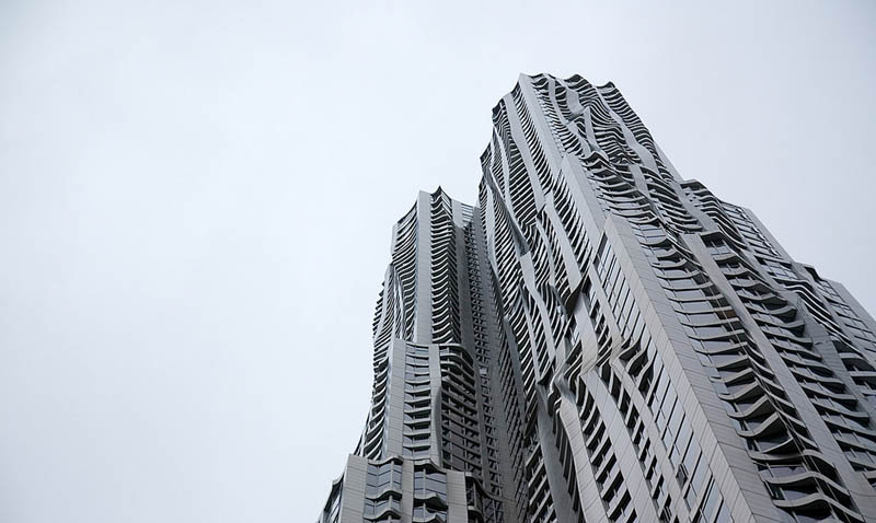 new york by gehry building manhattan new york city 8 New York by Gehry: Tallest Residential Tower in Western Hemisphere