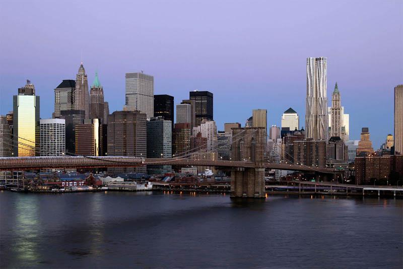 new york by gehry rental residence building tower manhattan new york city 14 New York by Gehry: Tallest Residential Tower in Western Hemisphere